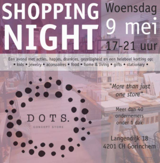 shoppingnight krant